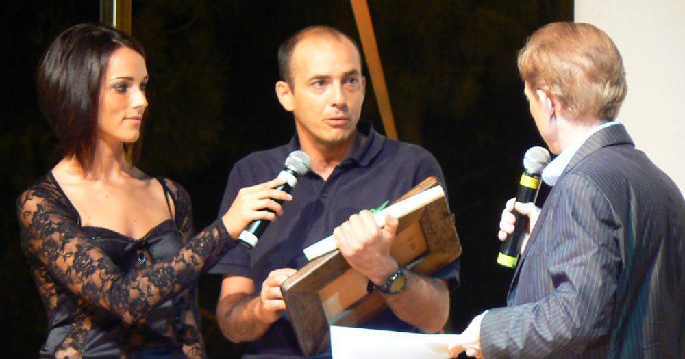 Lidia Di Blasio Presentatrice con Osvaldo Bevilacqua