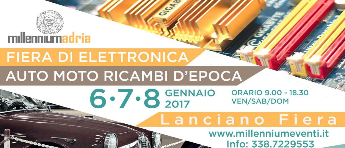 FIERA di ELETTRONICA, AUTO, MOTO e RICAMBI D'EPOCA 2017