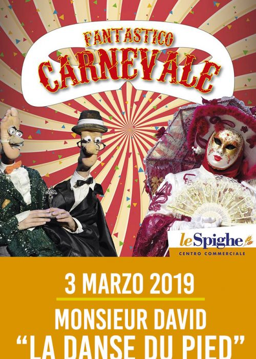 MONSIEUR DAVID 3 marzo 2019 – Crotone