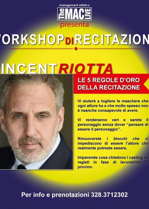 workshop Vincent Riotta