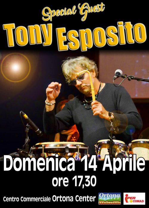 SPECIAL GUEST TONY ESPOSITO 14 Aprile 2019