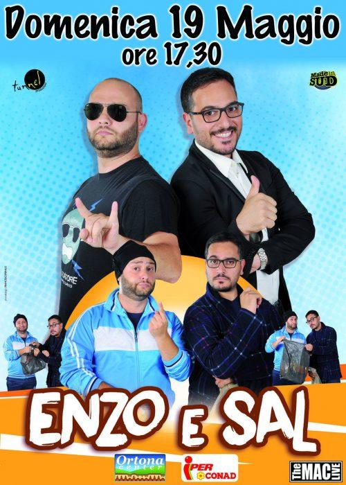 ENZO E SAL – 19 Maggio 2019 Ortona