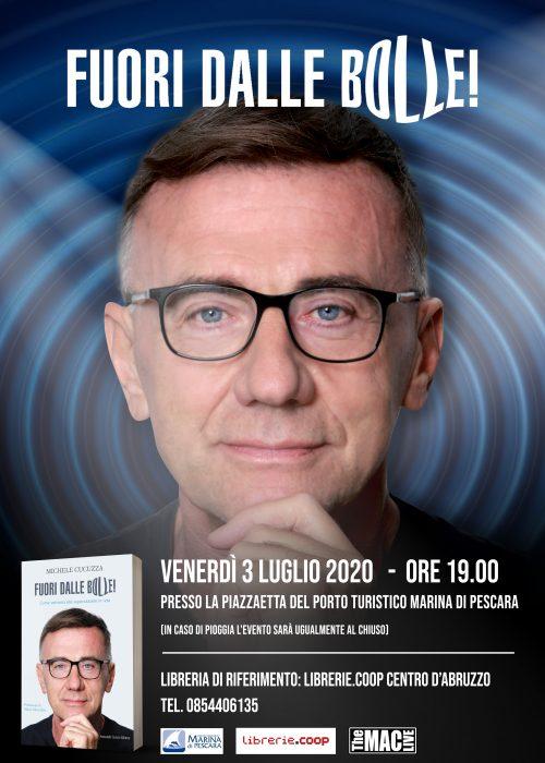 """FIRMA COPIE LIBRO """"FUORI DALLE BOLLE"""" DI MICHELE CUCUZZA"""
